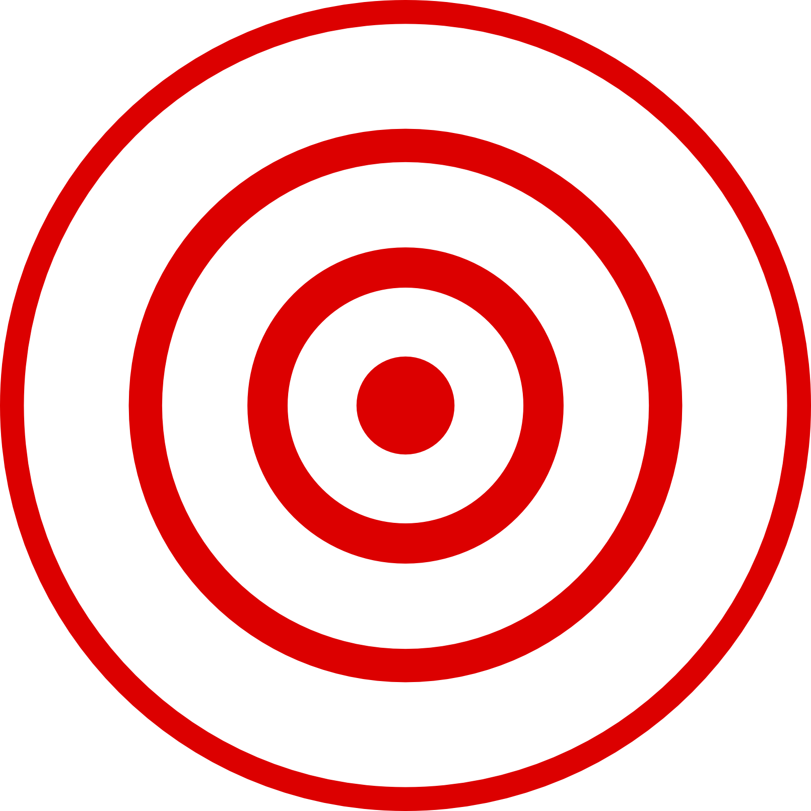 Free Bullseye Clipart Image.