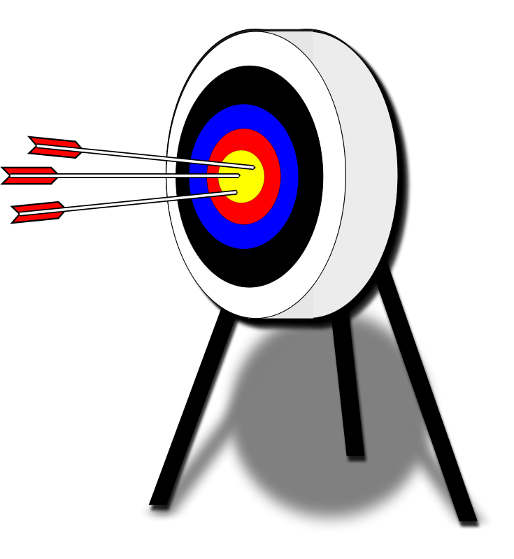 Archery Bullseye Clipart.