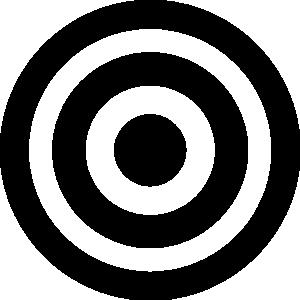 Bulls eye clip art.