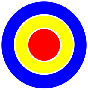 Bullseye Cartoon Clipart.