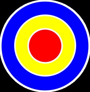 Bullseye Cartoon Clipart.