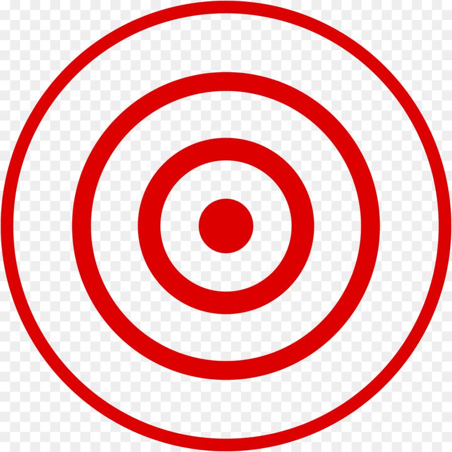 Bullseye Area png download.