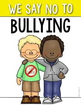 Bully Free Zone Clipart.