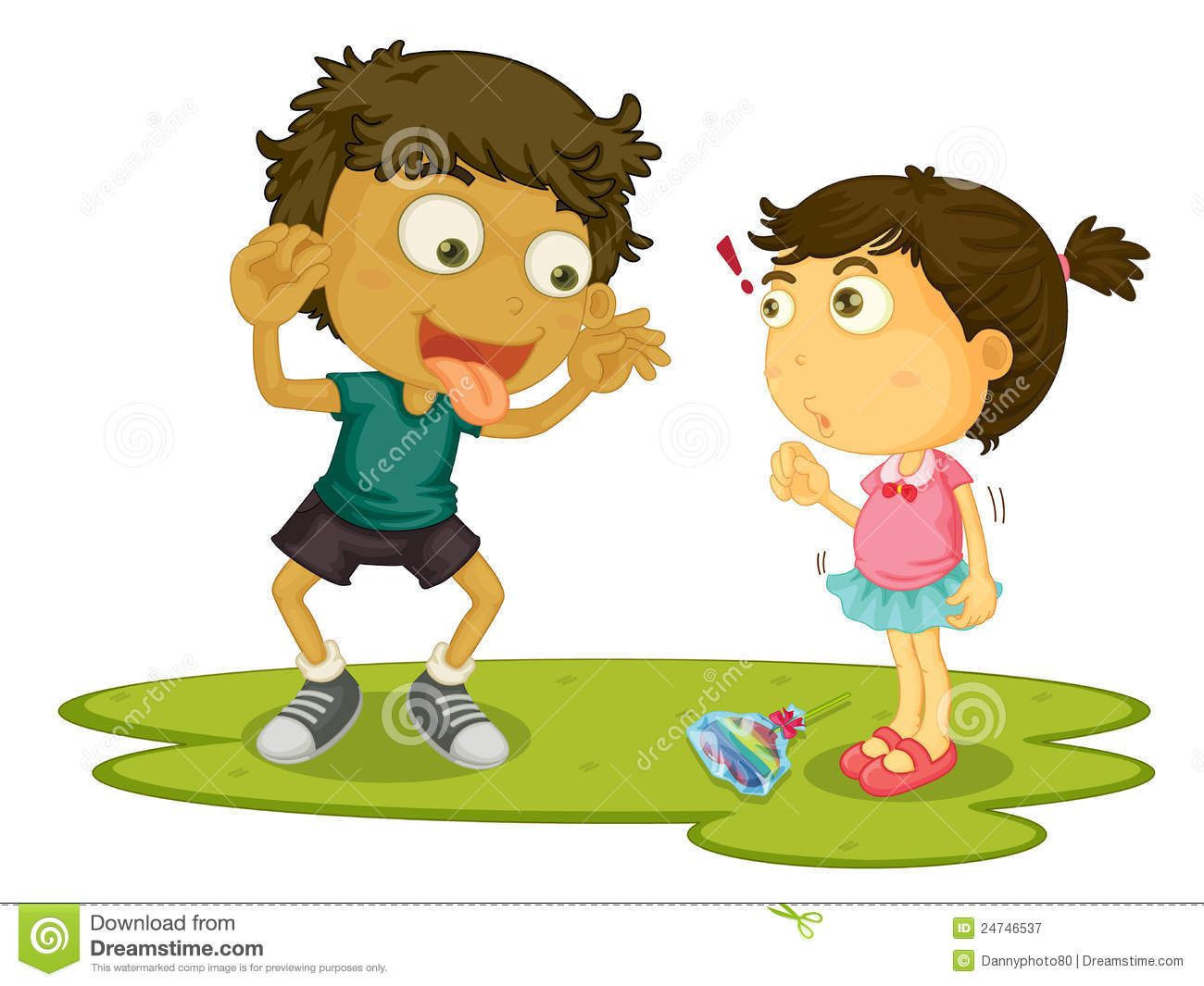 bullying at school clipart.