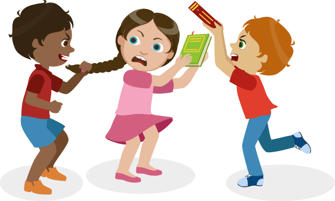 Bullying clipart in school, Bullying in school Transparent.