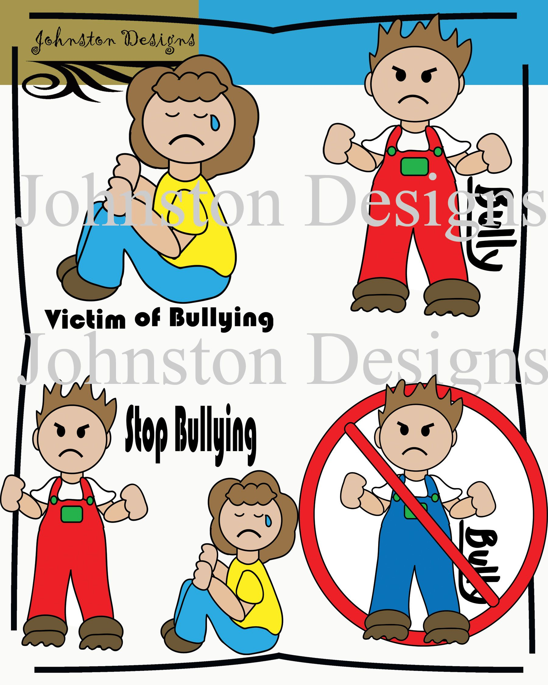 Free Bullying Clipart.