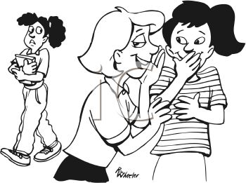 Bullying clipart black and white 3 » Clipart Station.