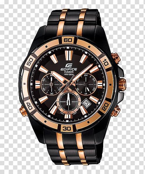 Bulova Watch Casio Edifice Chronograph, ไฟสส transparent.