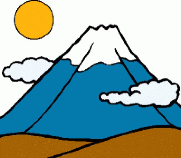 Clipart mountain animation, Clipart mountain animation.