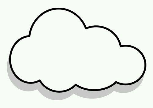 Bulut Şablonları.