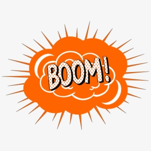 Clipart Explosion Boom.