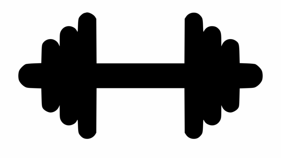 Dumbbells Clipart Svg.