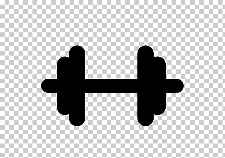 Weight training Dumbbell, dumbbell PNG clipart.