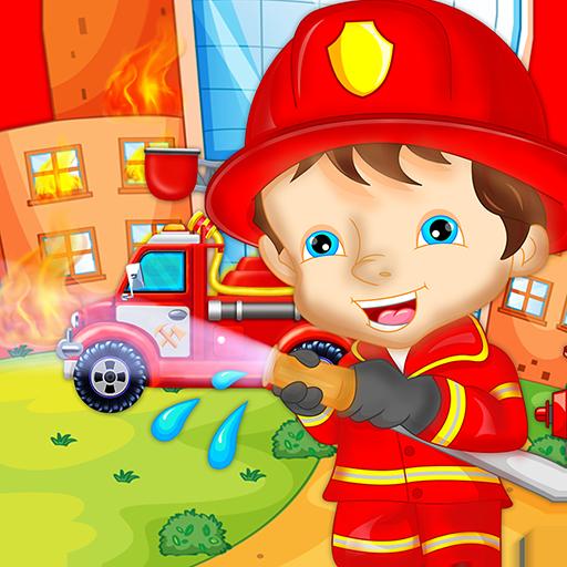 Fireman Games City Rescue Hero.