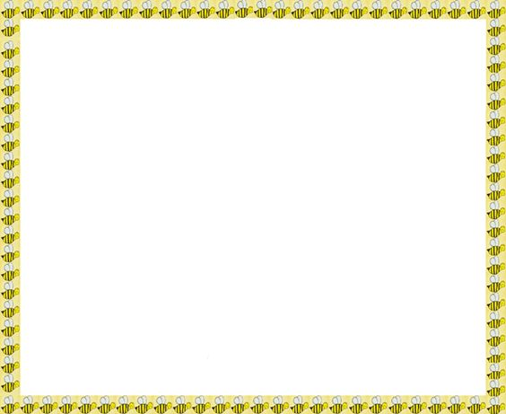 Free Bee Border Cliparts, Download Free Clip Art, Free Clip.