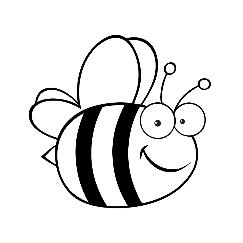Free Bumble Bee Clip Art Black And White, Download Free Clip Art.