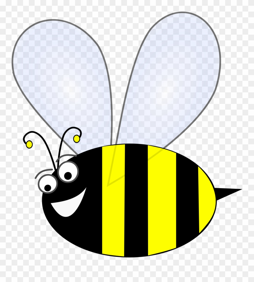 Clip Art Stock Bumble Bee Flying Clipart.