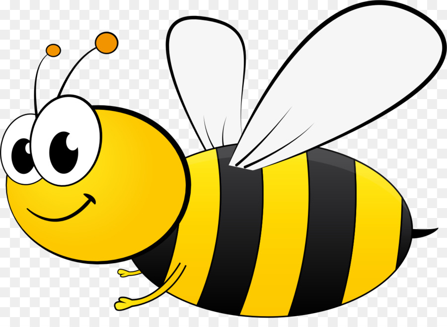 Bee Cartoon clipart.