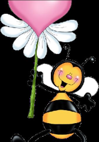 HD Bumblebee Clipart Heart.