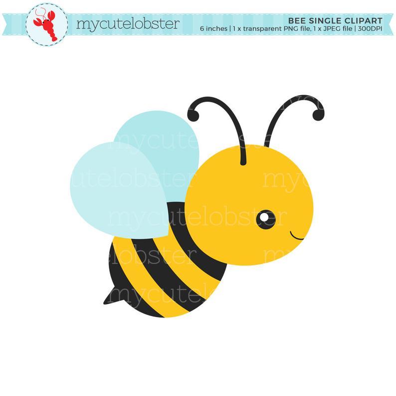 Bee Single Clipart.