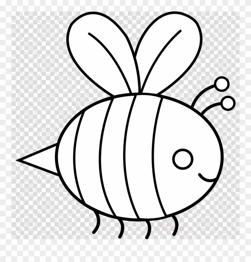 Bumble Bee Outline Clipart Bee Drawing Clip Art.