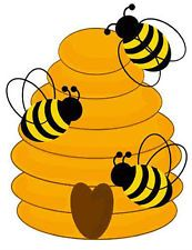 Bees nest clipart.