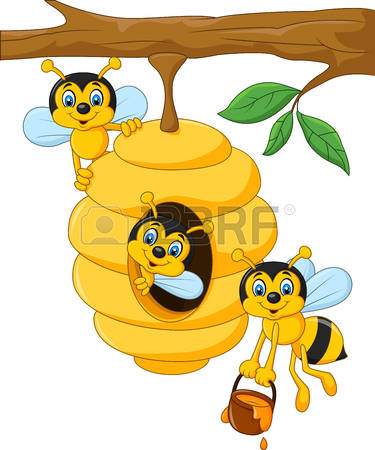 562 Bee Nest Stock Vector Illustration And Royalty Free Bee Nest.