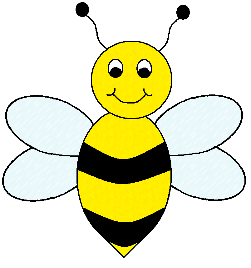 Bumble Bee Template Printable. best photos of bumble bee cut out.