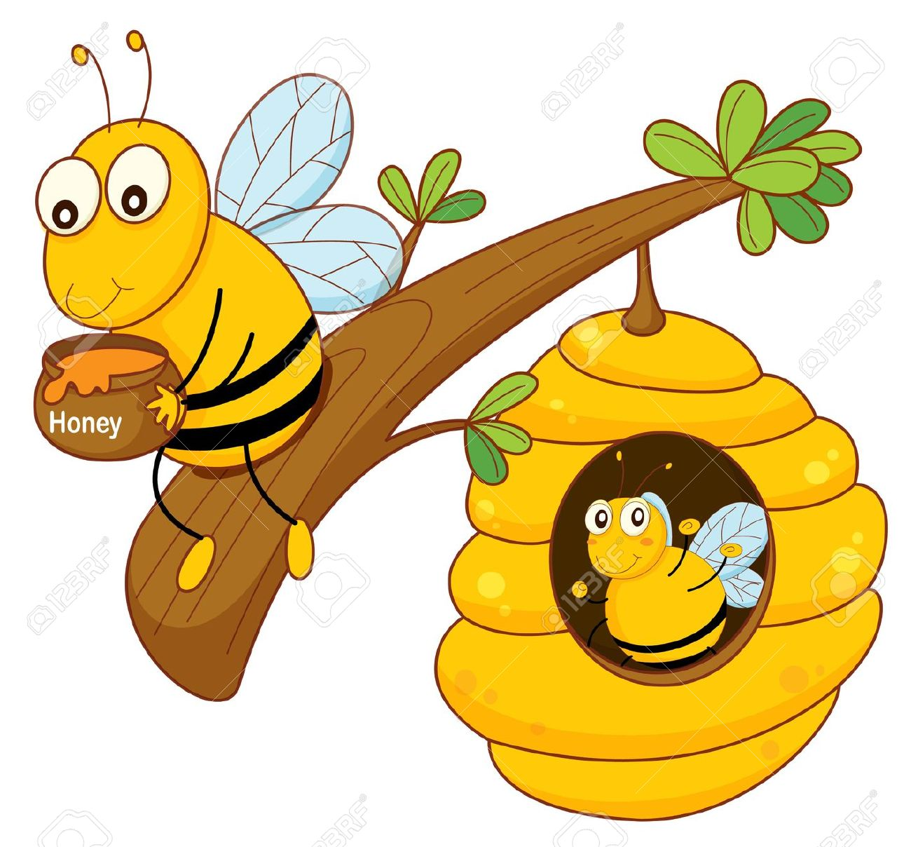 Honey nest clipart.