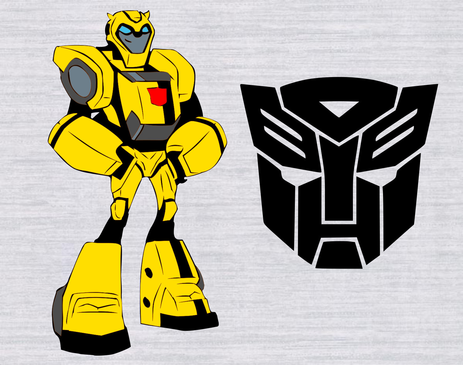 Transformers clipart bumblebee transformer pencil and in color.
