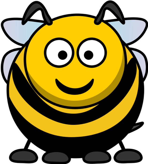 Free Bee Graphics.