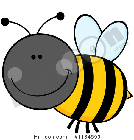 Bumblebees Clipart #1.