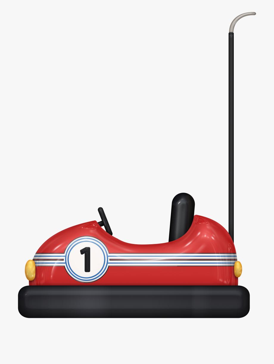 Bumper Cars Clipart.