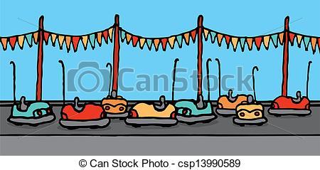 Bumper cars Vector Clipart Illustrations. 2,102 Bumper cars clip.