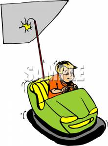 Riding In Car Clipart.