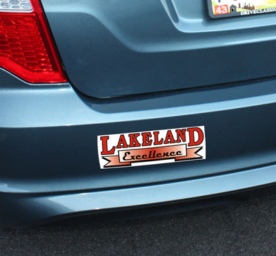 Bumper sticker clipart.