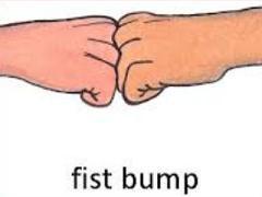 Free Fist Bump Clipart.