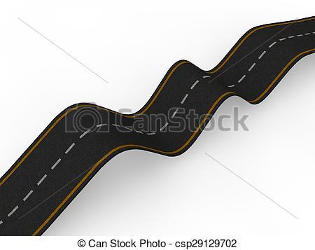 Bumpy road Clipart and Stock Illustrations. 291 Bumpy road vector.