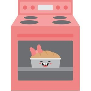 Oven clipart bun in oven, Oven bun in oven Transparent FREE.