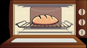 Bun In The Oven Clip Art at Clker.com.