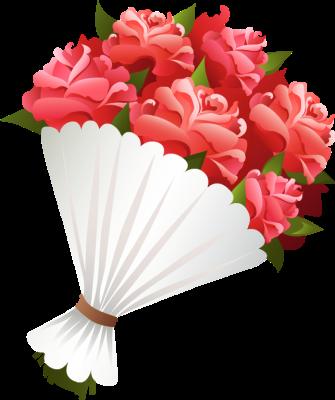 Free Flower Bouquet Clipart Images.
