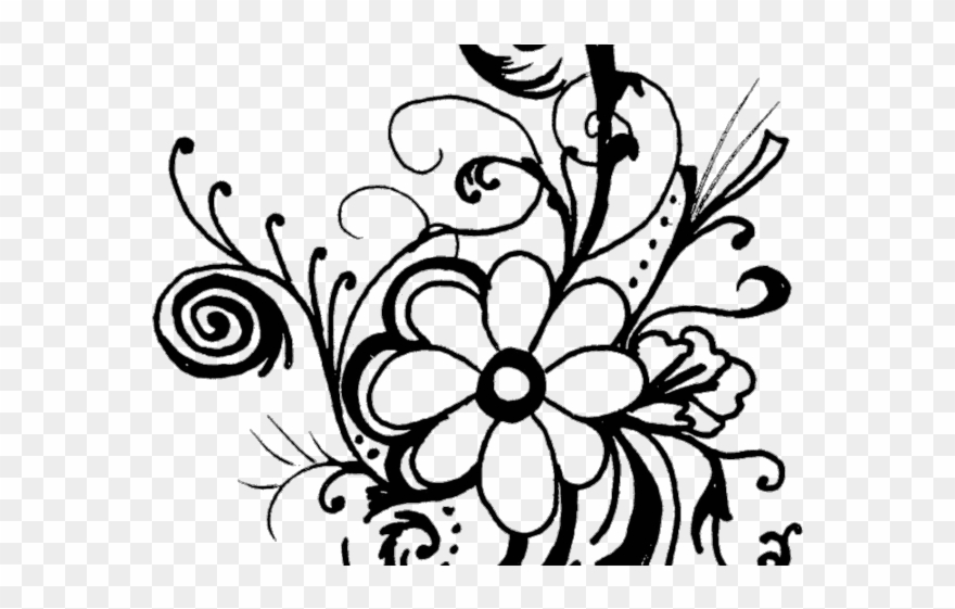 White Flower Clipart Flowe.