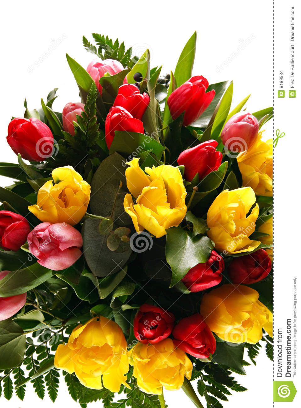 Bunch Of Flowers Stock Images.