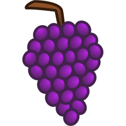 Grape bunch clipart.
