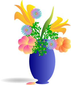 Bunch Of Flowers Clip Art at Clker.com.