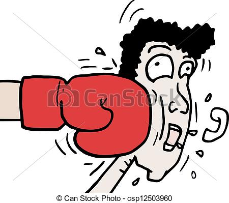 Boxing Punch Clipart.