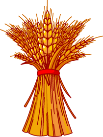 Wheat bundle clip art.