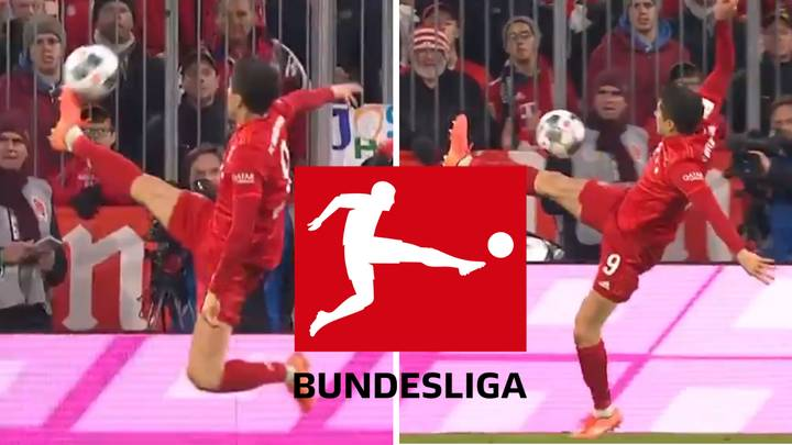 Robert Lewandowski Produces Insane Touch And Becomes The.