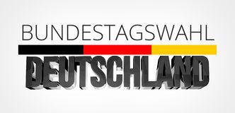 Bundestagswahl Stock Illustrations.