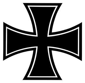 This is the logo for the Bundeswehr, the Iron Cross.